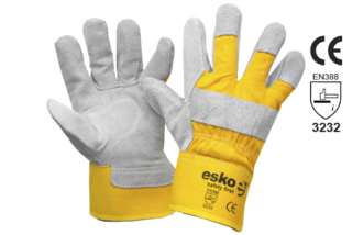 Leather Handyman Rigger Glove - Esko Handyman