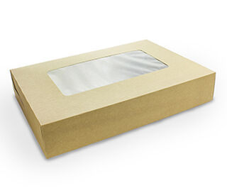 Platter box with insert - Large 45x31x8.2cm - Vegware