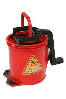 Edco Enduro Nylon Wringer Bucket - RED - Edco