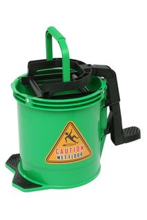 Edco Enduro Nylon Wringer Bucket - GREEN - Edco