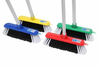 Edco Economy Household Broom With Handle  - Edco