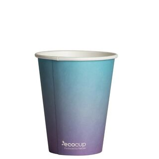 Hot Cup PLA Single Wall 8oz Colour Series 80mm - Ecoware