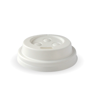 4oz Sipper Lid PS White - BioPak