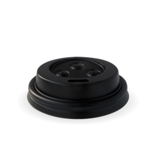 4oz Sipper Lid PS Black - BioPak