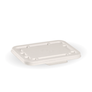 500ml & 600ml White BioCane Takeaway Lid - BioPak