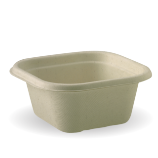 Takeaway Container Base Natural 480ml BioCane - BioPak