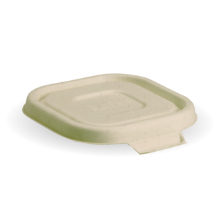 Takeaway Container Lid Natural Small BioCane - BioPak