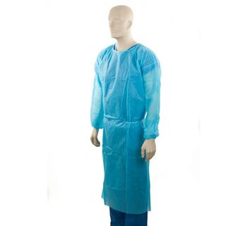 PP Clinical Gown - Blue - Bastion