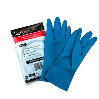 Bastion Silverline Blue Gloves - UniPak