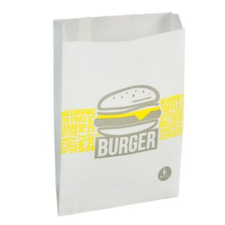 Emperor Burger Bag 165W x 245Hmm (50mm gusset) - UniPak