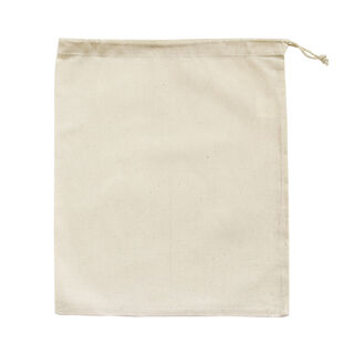 Large Drawstring Bag Natural - Ecobags