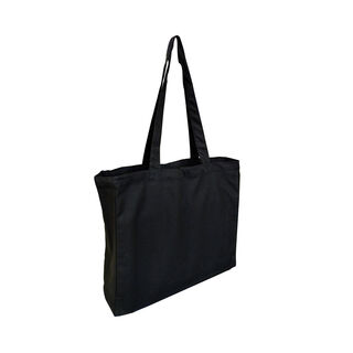 Tote with Gusset Black - Ecobags