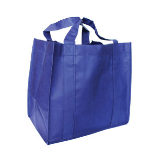 Small Grocer Bag - NAVY BLUE - Ecobags