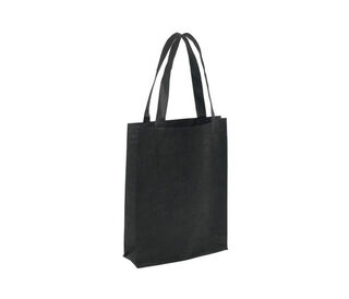 A4 Tote with Gusset Black - Ecobags