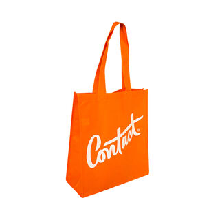 Tote with Gusset - ORANGE - Ecobags