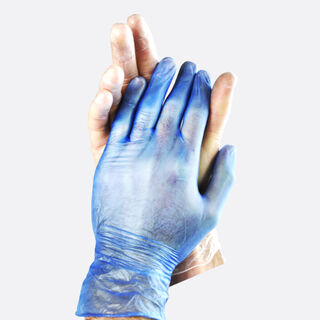 Vinyl Gloves Clear - Powdered