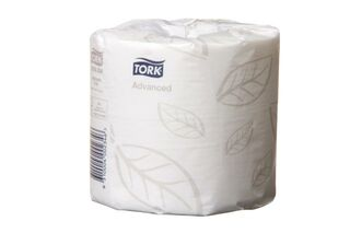 Soft Conventional Toilet Roll 2Ply White - Tork 0000234