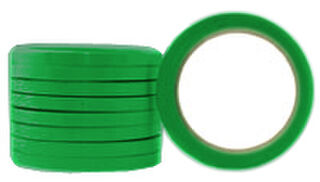 Coloured OOP Rubber Vegetable Bundling Tape 24mm - Pomona