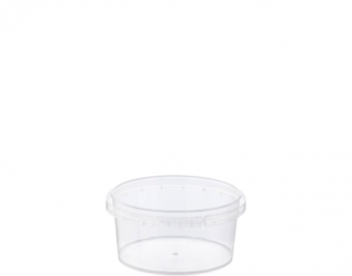 Locksafe' Small Round Tamper Evident Containers, 160 ml - Castaway