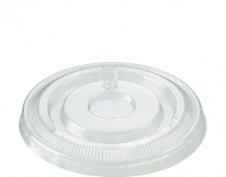Large Portion Control Cup Lids (suit CA-P400), Clear - Castaway