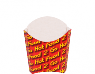 Chip Scoop - Hot Food 2 Go, Bulk Packed
