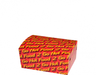 Junior Snack Boxes - Hot Food 2 Go, Sleeved - Castaway