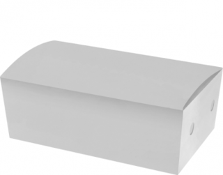 Large Snack Boxes, Bulk Packed, White