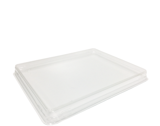 Fuzione Food Tray Lid, Medium (suit Medium Fuzione' Food Tray) Clear - Castaway