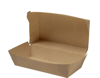Rediserve' Brown Kraft Paper Snack Packs #1 Medium Meal, Brown Kraft - Castaway