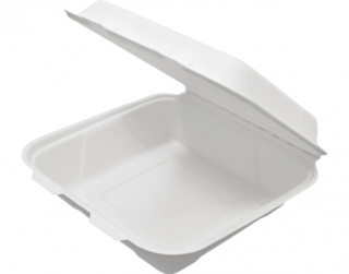 Enviroboard' Dinner Packs, Large White - Castaway