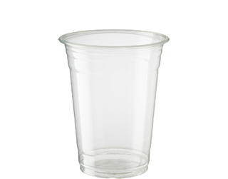 16oz Cold Cup HiKleer' P.E.T, Clear - Castaway