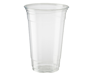 20oz Cold Cup HiKleer' P.E.T, Clear - Castaway