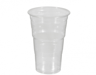 425ml Costwise' PP Cold Cup, Clear