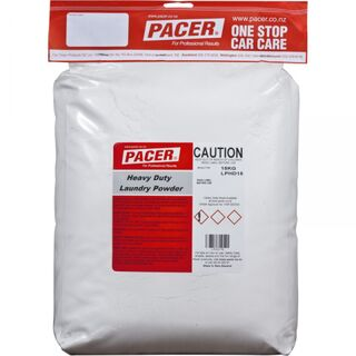 Laundry Powder Heavy Duty 15kg - Pacer