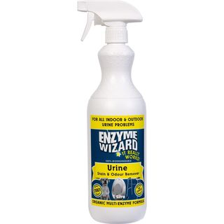 Urine Stain & Odour Remover RTU 9 x 1Litre - Enzyme Wizard