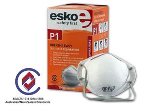 BREATHE EASY' P1 Dust Non-valved Mask - Esko
