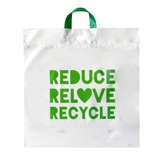 Retail/Checkout Bag Recyclable Large 47.5x47.5cm - Ecobags - Pack or Carton