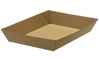Tray Corrugated Board Large - Green Choice