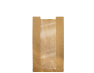COB Loaf Window Paper Bags - Castaway