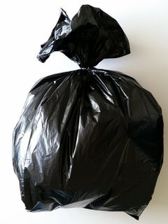 Black Rubbish Bag 600x400x1000mm - Fortune