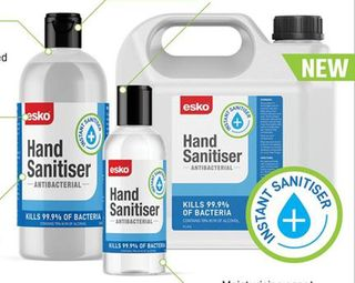 Hand Sanitiser Alcohol Gel 70% 500ml flip top - Esko