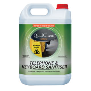 Telephone & Keyboard Sanitiser 5Litres - Qualchem
