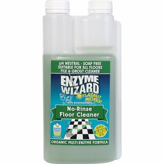No Rinse Floor Cleaner Concentrate 9 x 1Litre - Enzyme Wizard
