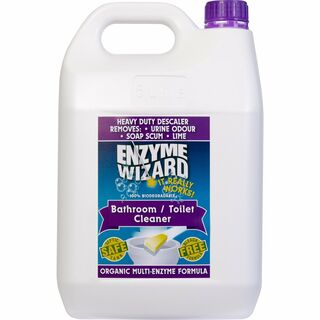 Toilet Bowl/Bathroom Cleaner RTU 3 x 5Litres - Enzyme Wizard