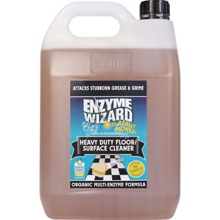 Heavy Duty Floor/Surface Cleaner 3 x 5Litres - Enzyme Wizard