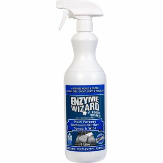 Bathroom/Kitchen Spray & Wipe RTU 9 x 1Litre - Enzyme Wizard