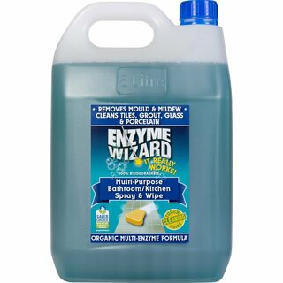 Bathroom/Kitchen Spray & Wipe 3 x 5Litres - Enzyme Wizard