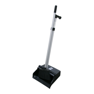 Gala Lobby Dustpan & Brush Set (black) - Filta