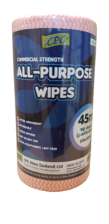 All Purpose Wipes (Red) - CPC NZ