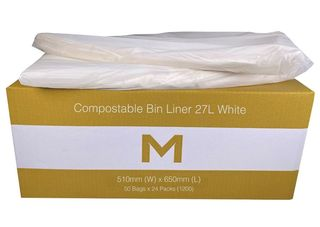 Office Bin Liner Compostable 27L Brown - Matthews
